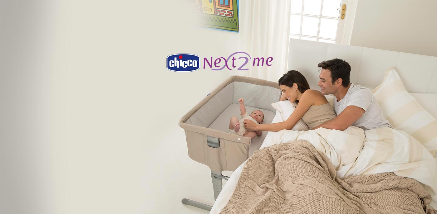 Chicco Next 2me baby wieg