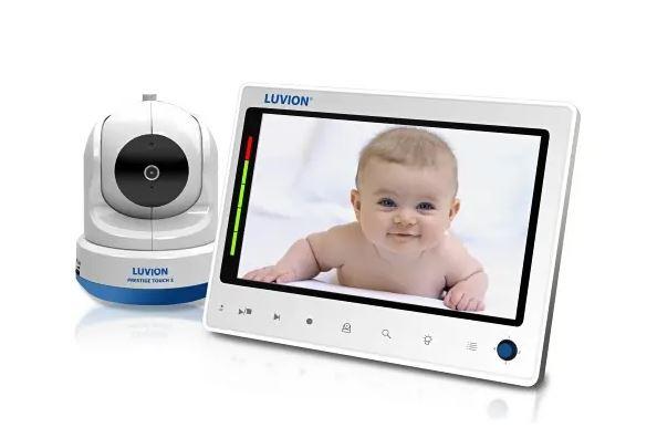 luvion prestige touch 2 beeld babyfoon met camera en scherm