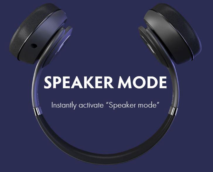 Buoq Axis bluetooth headphone speaker