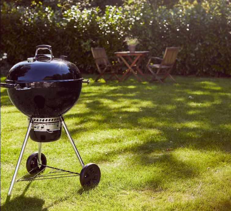 weber master touch houtskool barbecue