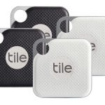 Tile Pro bluetooth tracker zoeklabel met smartphone tile app