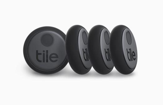 Tile Pro bluetooth tracker zoeklabel sticker