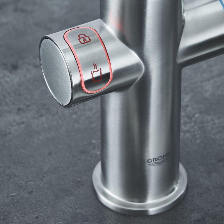 grohe red kokendwaterkraan 3-in-1 boiler