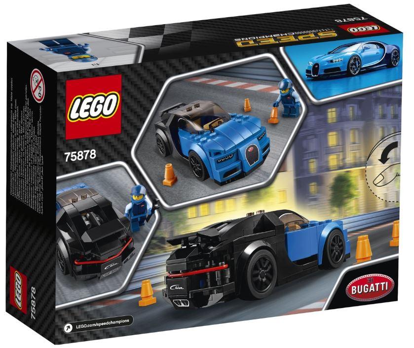 Lego speed champions bouwset racewagen replica raceauto
