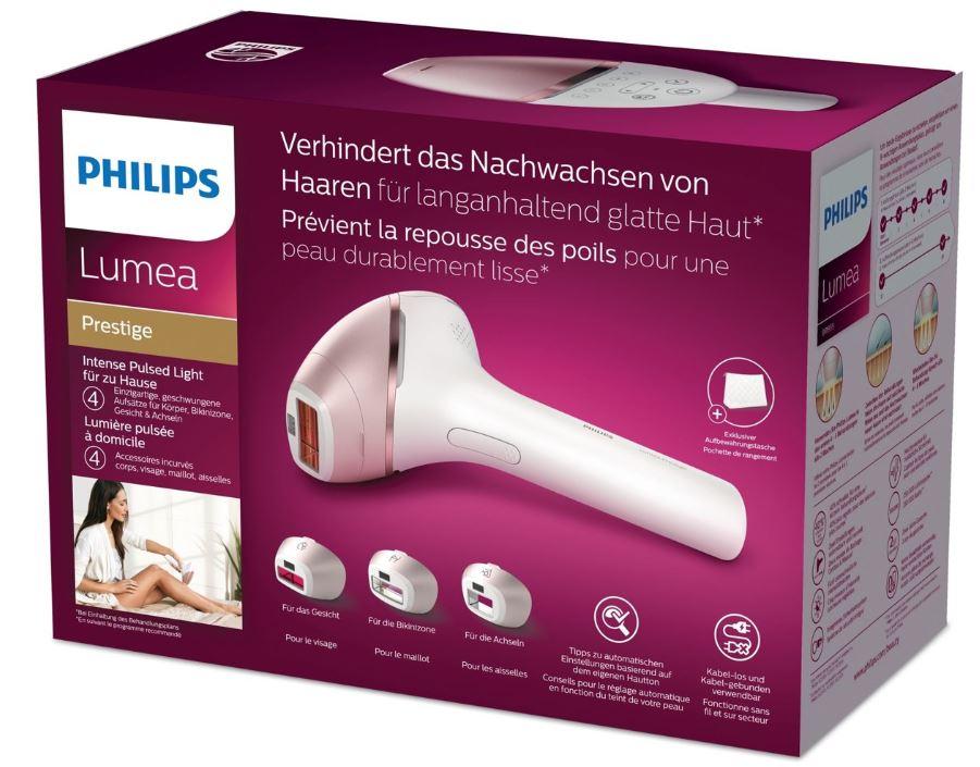 Philips lumea prestige ipl licht ontharingsapparaat ipl epileren
