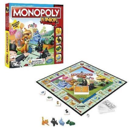 monopoly voor kinderen monopoly junior bordspel