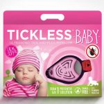tickless baby teek en vlo afweer pink beige bescherming audiogolven review