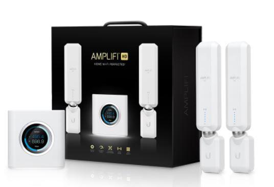 multiroom wifi voor thuis ubiquity amplifi hd afi hd mesh internet set voor thuiswerken